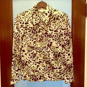 St. John Jade Leopard Jacket